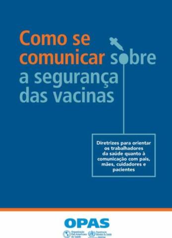 Como se comunicar sobre a segurança das vacinas