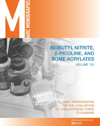 Isobutyl Nitrite, Beta-Picoline, and Some Acrylates