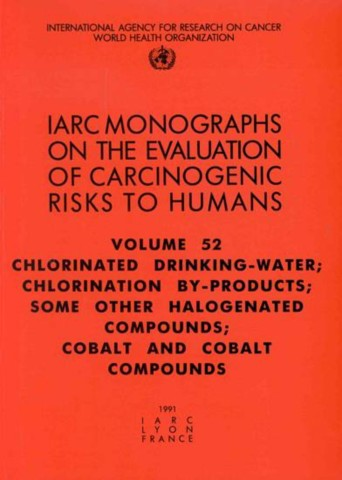 Chlorinated Drinking-Water, Chlorination By-Products, Some Other Halogenated Compounds, Cobalt and Cobalt Compounds