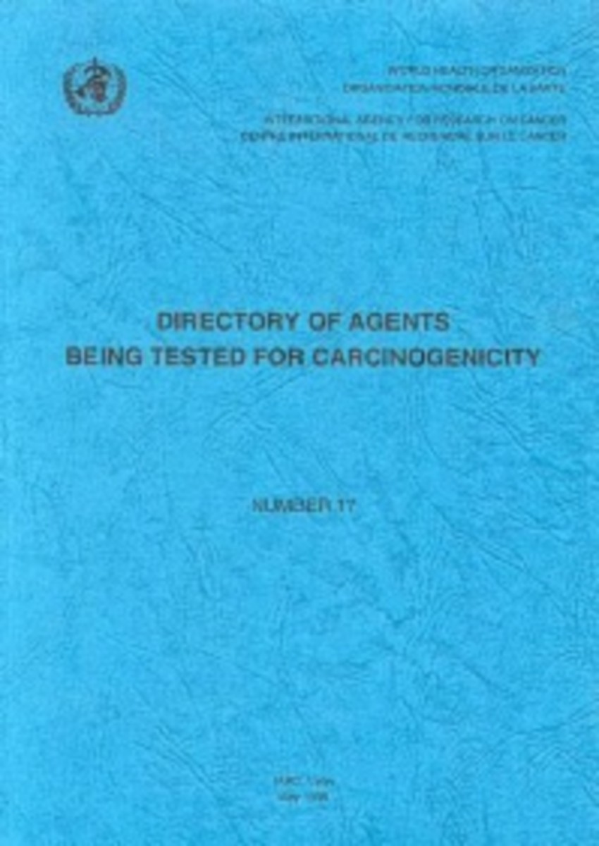 Directory of Agents Being Tested for Carcinogenicity