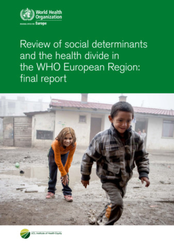 Review of Social Determinants and the Health Divide in the WHO European Region