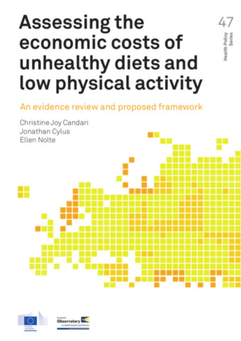 Assessing the Economic Costs of Unhealthy Diets and Low Physical Activity