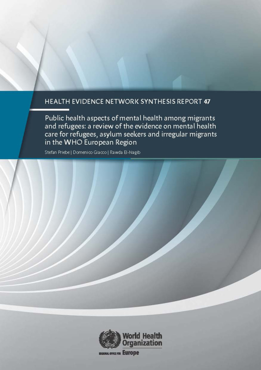 Public Health Aspects of Mental Health Among Migrants and Refugees
