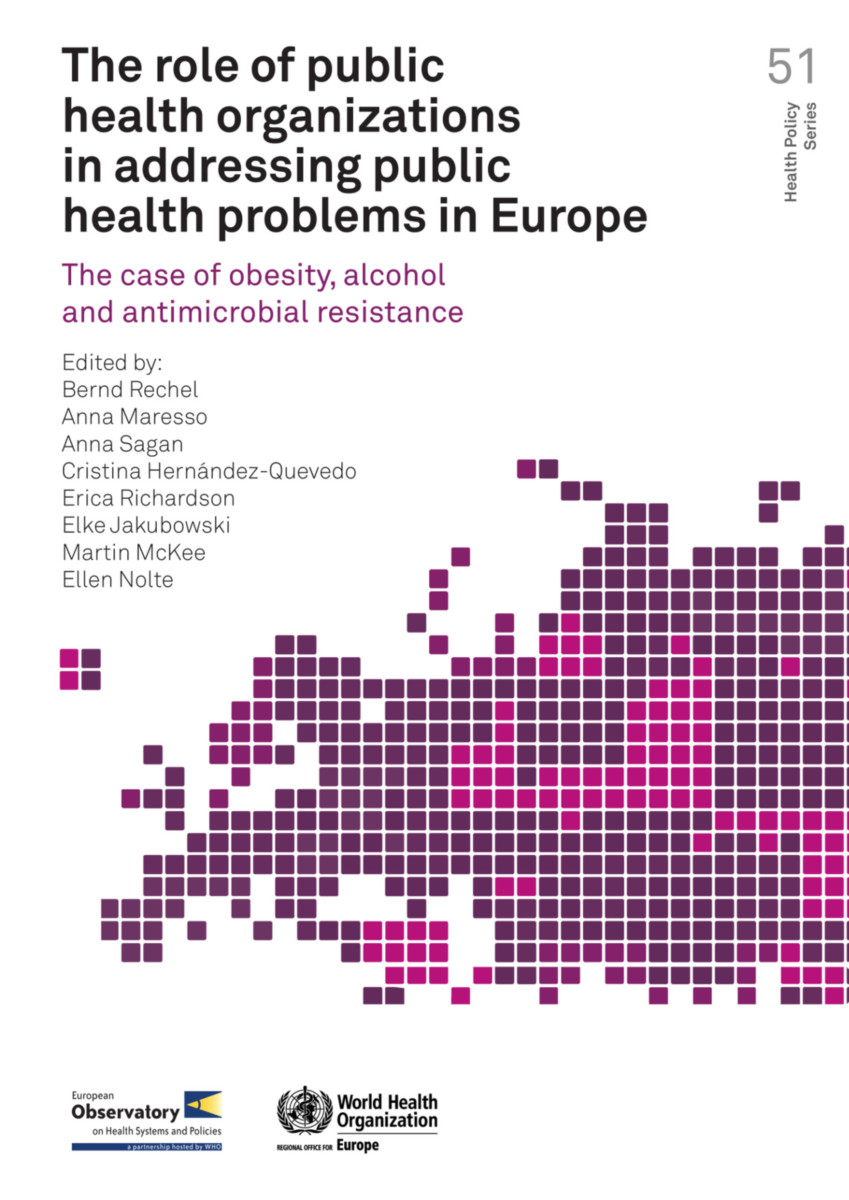 The role of public health organizations in addressing public health problems in Europe