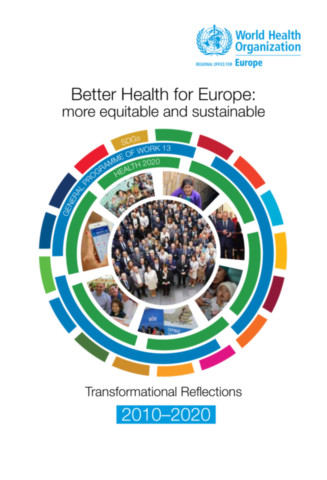 Better Health for Europe - More Equitable and Sustainable