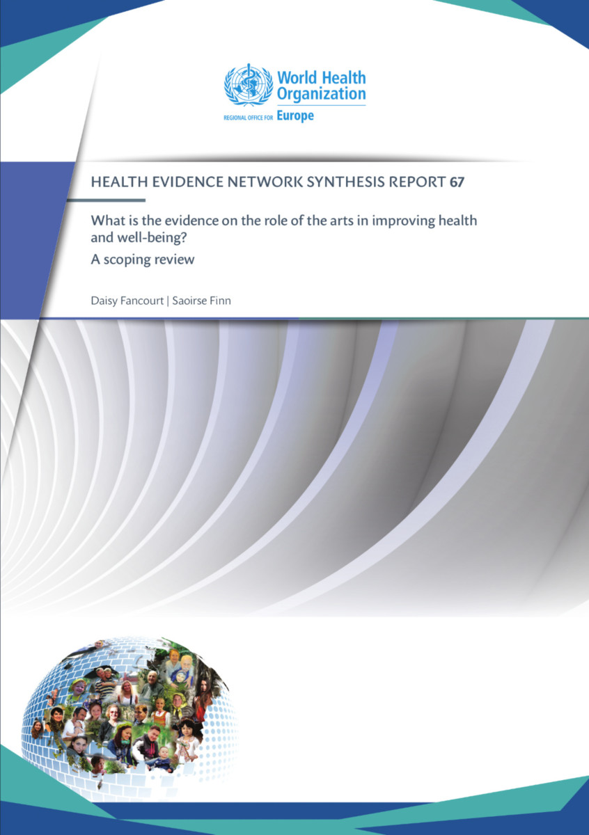 What is the evidence on the role of the arts in improving health and well-being?