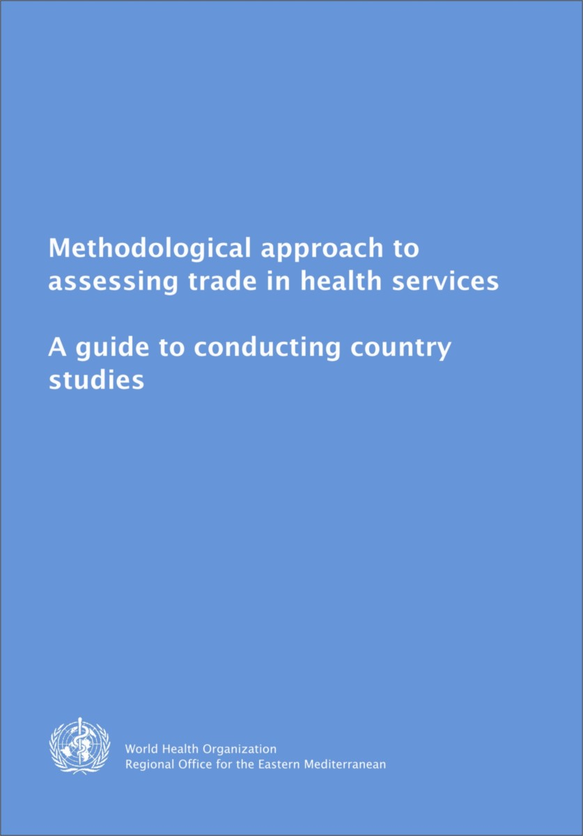Methodological Approach to Assessing Trade in Health Services