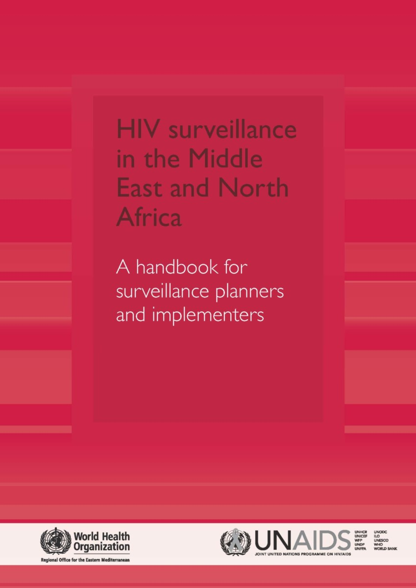 HIV Surveillance in the Middle East and North Africa