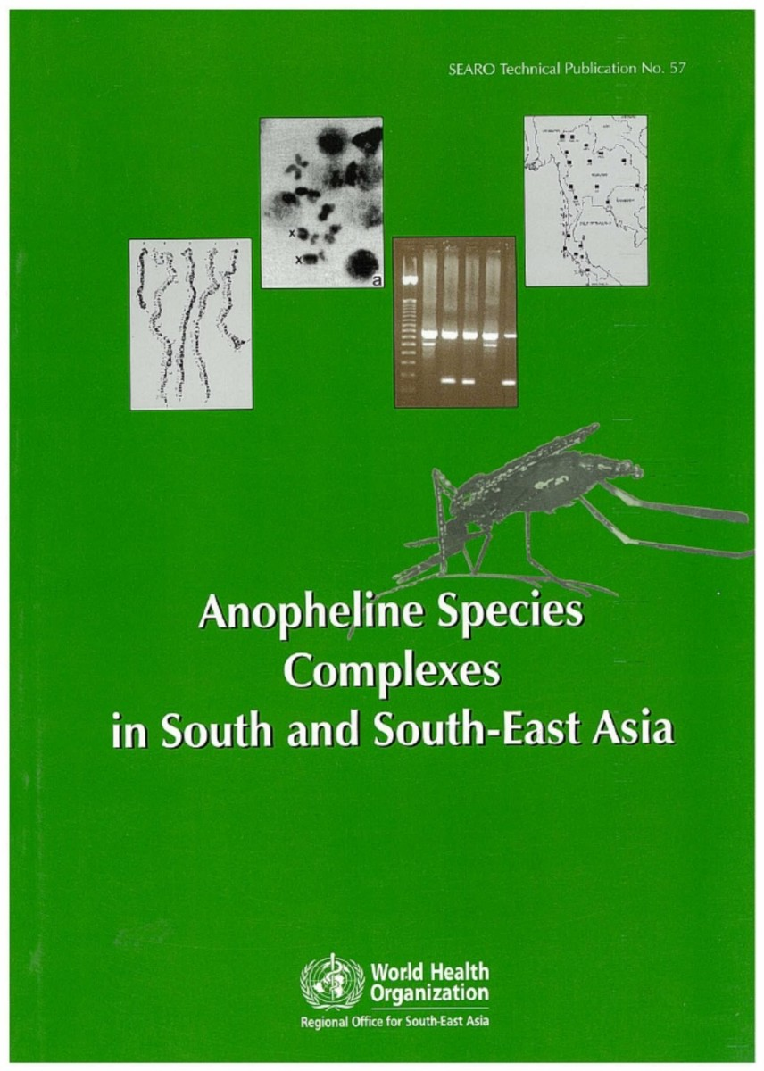 Anopheline Species Complexes in South and South-East Asia