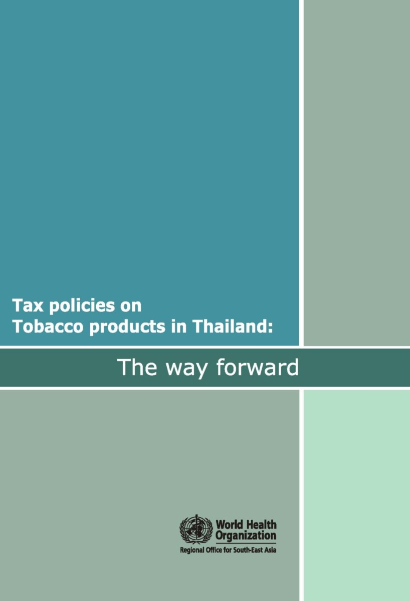 Tax Policies on Tobacco Products in Thailand