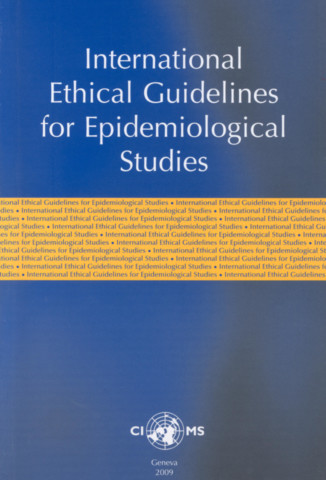 International Ethical Guidelines on Epidemiological Studies