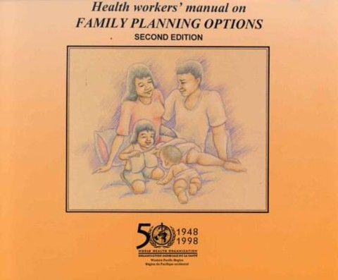 Health Workers' Manual on Family Planning Options