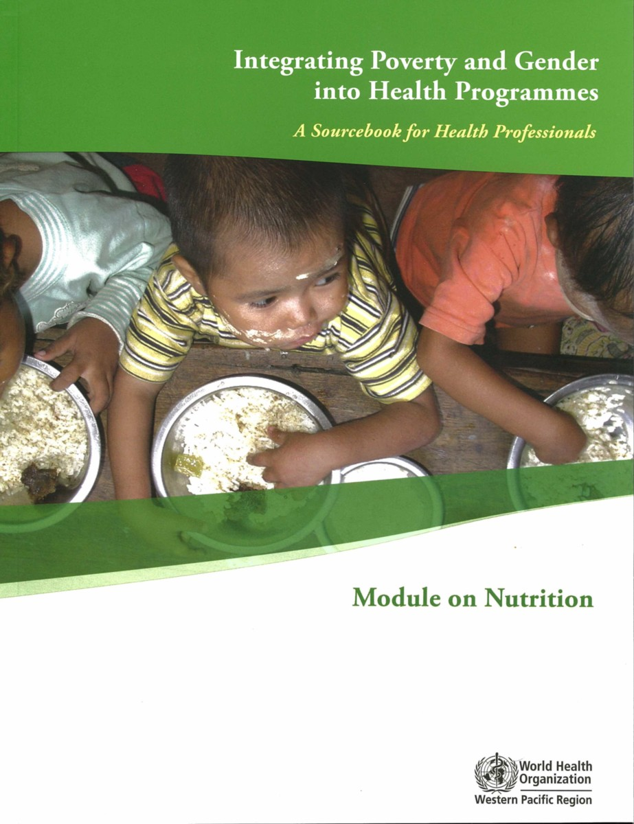 Integrating Poverty and Gender into Health Programmes