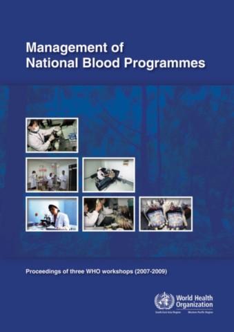 Management of National Blood Programmes
